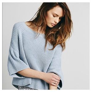 [Free People] Rayanne Shaker Sweater